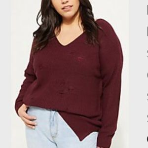 Rue21 Ripped Sweater